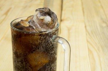 drink soda cola cup glass caffeine liquid concept