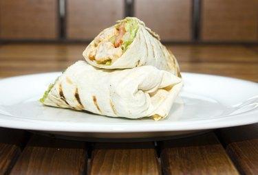 DAner kebap - Chicken Salad Sandwich Wrap