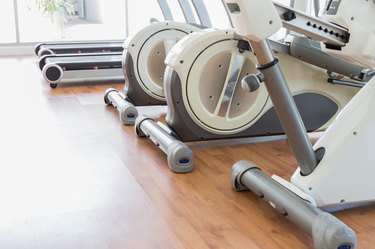 Elliptical in Fitness Room
