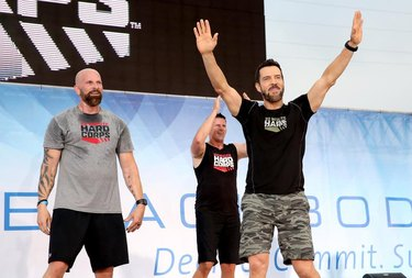 NASHVILLE, TN - JULY 30:  Super Trainer Tony Horton leads 22 MINUTE HARD CORPS at Beachbody's SUPER WORKOUT, where 25,000 coaches took over Broadway during the 2016 Beachbody Coach Summit on July 30, 2016 in Nashville, Tennessee.  (Photo by Terry Wyatt/Getty Images for Beachbody)