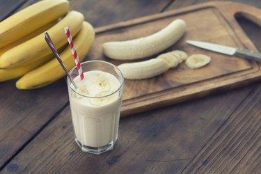 Bananas weight loss dessert smoothie