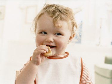 Young Child Eating
