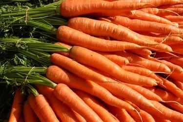 Many carrots
