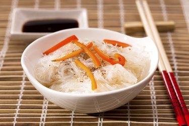 Bowl of cellophane noodles