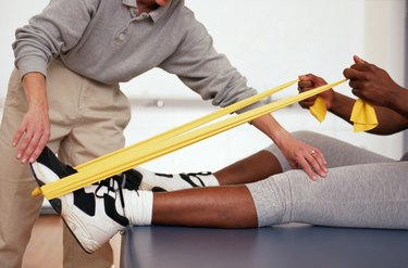Rehabilitation with Thera Bands