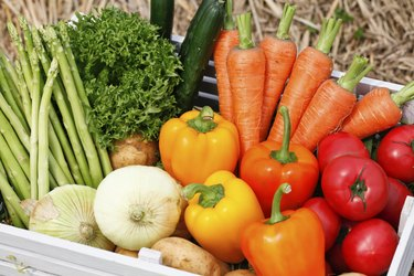 Vegetables, harvest,