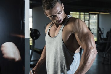Shoulders Cable Lateral Raise Exercise