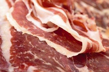 Thiny Sliced Spanish Jamon