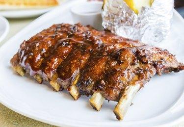 barbecue pork spareribs