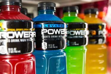 Coca Cola To Remove BVO From Powerade Sports Drinks