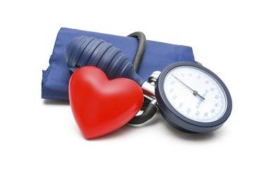 Blood Pressure gauge and heart