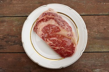 Premium quality ribeye steak