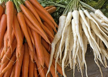Parsley and carrot (roots)