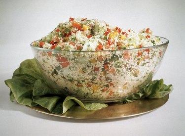 Bell Pepper-Couscous Salad