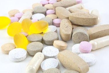 Vitamin Supplement Pills