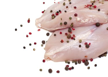 fresh raw chicken breast