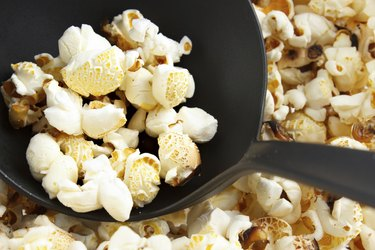 Popcorn and scoop