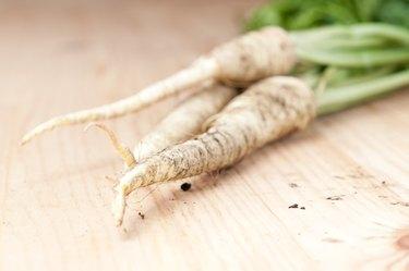 Fresh parsley root