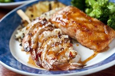 Hawaiian Shrimp and Salmon