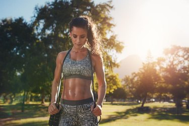 How to Even Out Abdominal Muscles