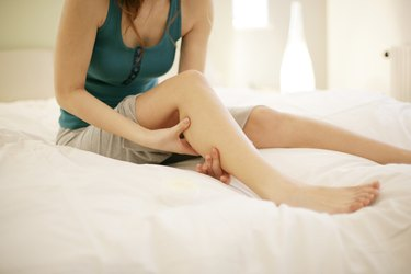 Girl Giving Foot Massage