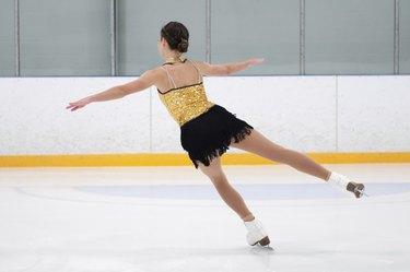 Figure Skater Practicing
