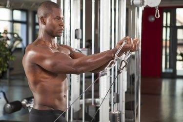 men workout