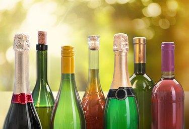 Wine, Beer, Beer Bottle