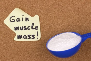 Reminder sticky note gain muscle mass