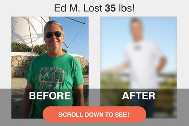 Ed lost 35 pounds while he was quitting smoking!