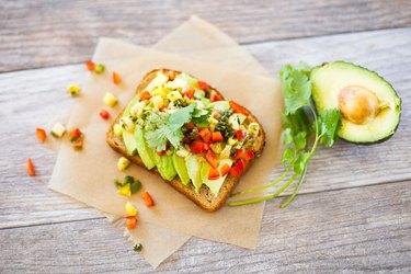Tropical Avocado Toast