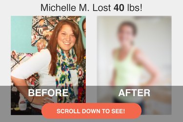 Scroll down to see Michelle's transformation!