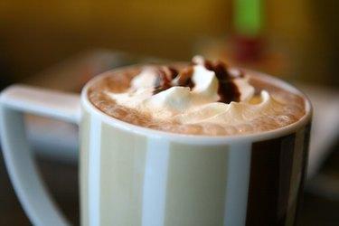 mug of hot cocoa