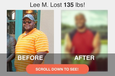 Scroll down to see Lee's impressive transformation.