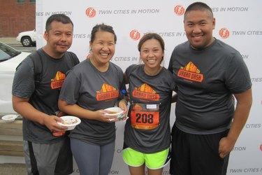 Runners at the TC Urban Dash