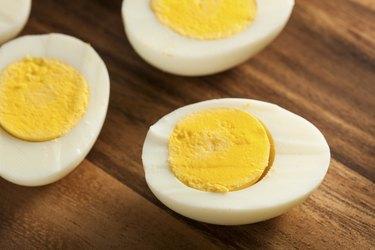 Hard-Boiled Eggs Easy 100-Calorie Snacks