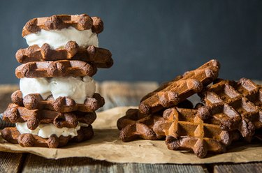 Protein Waffle Ice Cream Sandwiches Protein Powder Recipes