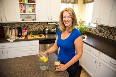 """""""The biggest challenge was finding healthy recipes that our kids liked too."""""""