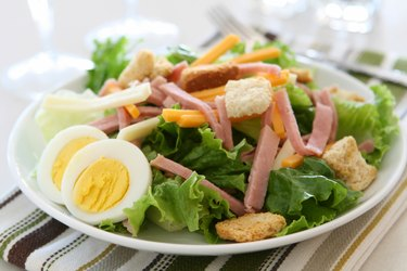 salad ingredients unhealthy deli meat