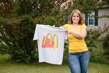 Before losing weight Amanda worried about the example she was setting for her kids.