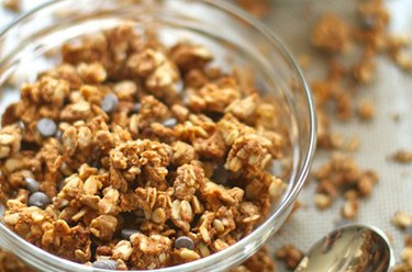 Vanilla Almond Butter Protein Granola Protein Powder Recipes
