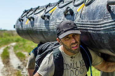 Man participating in GORUCK Selection