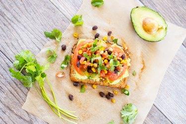 Tex-Mex Avocado Toast