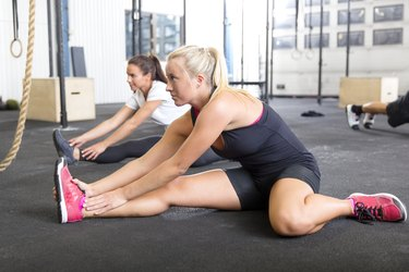 Stretching can help alleviate those pesky aches and pains.
