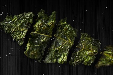 Kale Chips healthy late night snacks