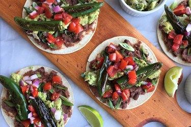 Chiles Toreados Tacos