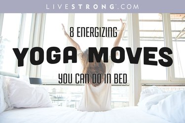 Try these energizing yoga moves to start the day right.