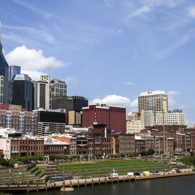 Downtown Nashville skyline