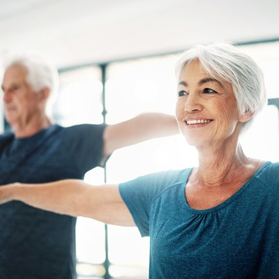 Try to maintain healthy fitness habits, no matter your age