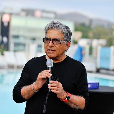 Deepak Chopra at Cultural Marketing Summit 2017